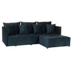 Univerzální sedací souprava, pařížská modrá, LENY ROH