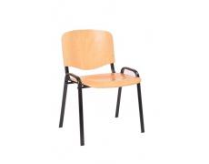Konferenční židle ISO 12 chrom Buk