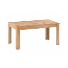 Rozkládací jídelní stůl, 160-200cm, dub apalačský, PUSAN S