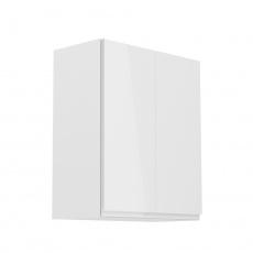 Horní skříňka, bílá/bílý extra vysoký lesk, AURORA G602F
