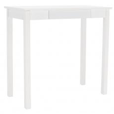 Konzolový stolek, bílá, AMYNTAS