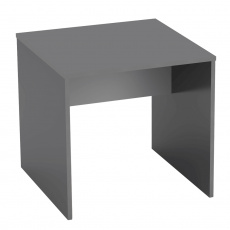 Psací stůl, grafit / bílá, RIOMA NEW TYP 17