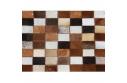Luxusní koberec, pravá kůže, 80x144, KŮŽE TYP 3