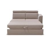 Otoman 2 1B ZF na objednávku k luxusní sedací soupravě, béžová, pravý, MARIETA
