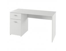 PC stůl, bílá, BANY