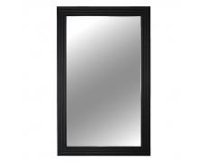 Zrcadlo, dřevěný rám černé barvy, Malkia TYP 1