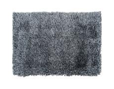 Koberec, krémově-černá, 140x200, Vilan