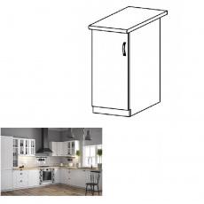 Spodní skříňka D30, levá, bílá / sosna andersen, PROVANCE