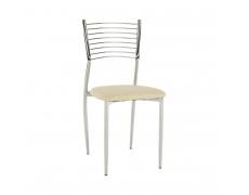 Jídelní židle, béžová, ZAIRA