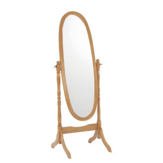 Stojanové zrcadlo, dub, ZRCADLO 20124