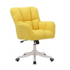 Kancelářské křeslo, žlutá, LOREL