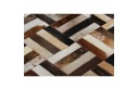 Luxusní koberec, pravá kůže, 70x140, KŮŽE TYP 2