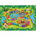 Koberec, dětský vzor ZOO, 100x150, ZOAN