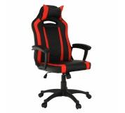 Kancelářské/herní křeslo, černá/červená, AGENA