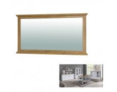 Zrcadlo MZ16, bílá/dub grand, LEON