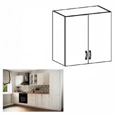 Horní skříňka G60, bíla/sosna Andersen, SICILIA