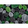 Koberec, zelená / šedá / černá, 170x240, PEBBLE TYP 1