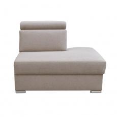 Otoman OTT MINI na objednávku k luxusní sedací soupravě, béžová, pravý, MARIETA