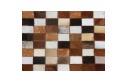 Luxusní koberec, pravá kůže, 144x200 cm, KŮŽE TYP 3