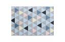 Koberec, vícebarevný, 133x190, PETAL