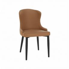 Jídelní židle, hnědá/černá, SIRENA