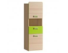 Skříňka, jasan / zelená, EGO L4