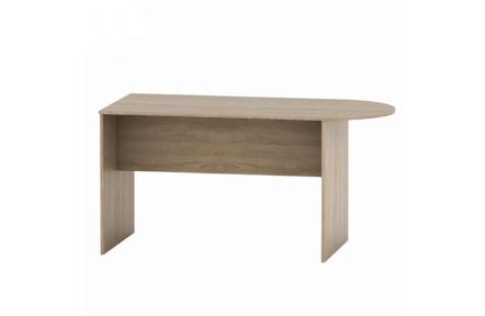 Zasedací stůl s obloukem 150, dub sonoma, TEMPO ASISTENT NEW 022