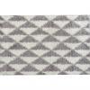 Koberec, krémově / šedá, geometrický vzor, 160x235, PIXEL