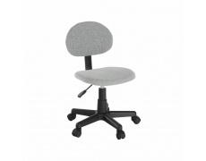 Kancelářská židle, černá / šedá, SALIM