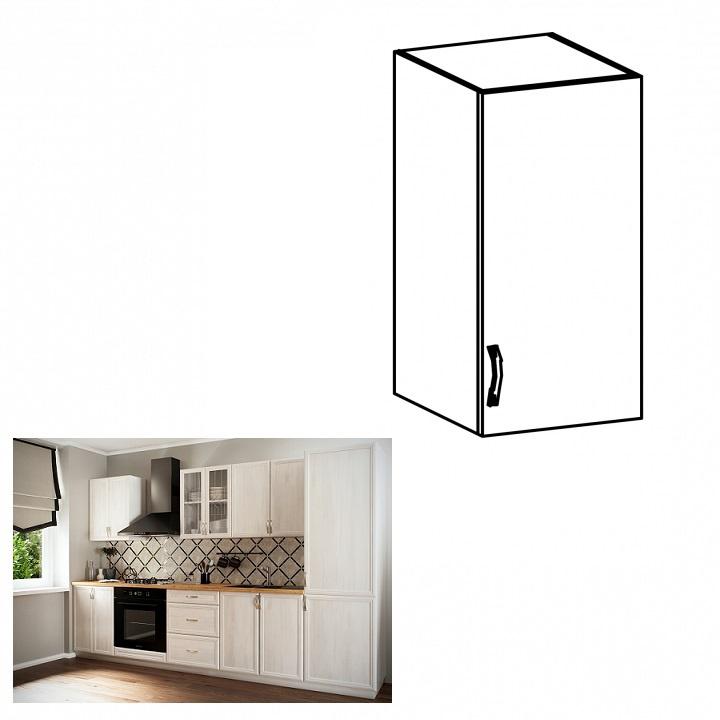 Horní skříňka G30, pravá, bíla/sosna Andersen, SICILIA