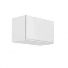 Horní skříňka, bílá / bílý extra vysoký lesk, AURORA G60KN