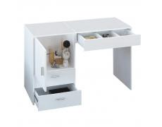 Víceúčelový stolek / stůl pro švadleny, bílá, TAILOR