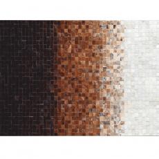 Luxusní koberec, pravá kůže, 170x240, KŮŽE TYP 7