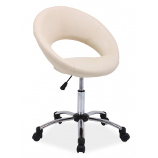 Kancelářská židle Q128 ŠEDÁ