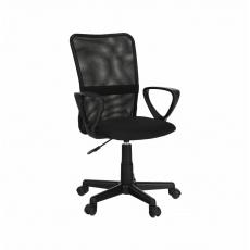 Kancelářská židle, černá, REMO 2 NEW