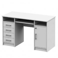 PC stůl, bílá, B9 NEW