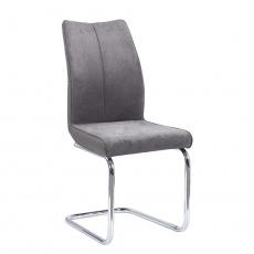 Jídelní židle, Taupe šedohnědá / šedá, FARULA