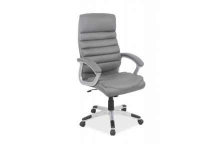Kancelářská židle Q087 šedá