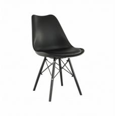 Židle, černá, Kemal NEW