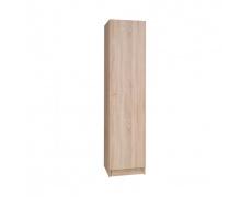 1-dveřová skříň, dub sonoma, MEXIM