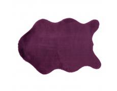 Umělá kožešina, fialová, 60x90, RABIT NEW TYP 6