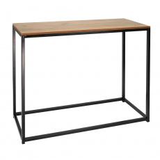 Konzolový stolek, černá, KALISTO