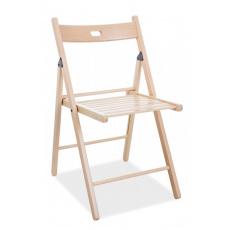 Jídelní skládací židle Smart II celodřevěná buk