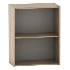Nízká policová skříňka, dub sonoma, TEMPO ASISTENT NEW 010