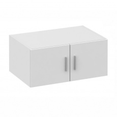 Nástavec na skříň, bílá, INVITA  TYP 9