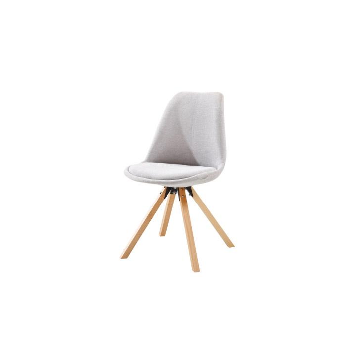 Židle, šedá/buk, SABRA