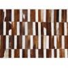 Luxusní koberec, pravá kůže, 141x200, KŮŽE TYP 5