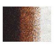 Luxusní koberec, pravá kůže, 70x140, KŮŽE TYP 7