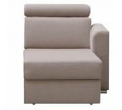 Otoman OTT 1B ZP na objednávku k luxusní sedací soupravě, béžová, pravý, MARIETA