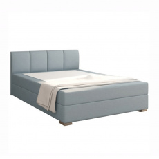 1124/5000Boxpringová postel 140x200, mentolová, RIANA KOMFORT